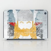 God of thunder grunge superhero iPad Case