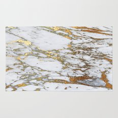Gold Marble Rug