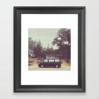 Volkswagen Vanlife 1 Framed Art Print