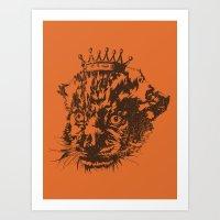 Prince of the Jungle Art Print