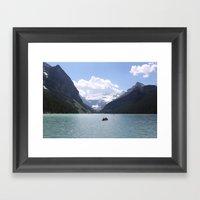 Lake Louise, Canada (201… Framed Art Print
