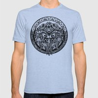 Shamandala Mens Fitted Tee Athletic Blue SMALL