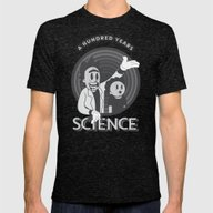 T-shirt featuring A HUNDRED YEARS SCIENCE by Andbloom