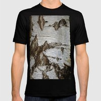 Treeart Mens Fitted Tee Black SMALL