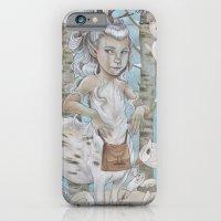 iPhone & iPod Case featuring WINTER CENTAUR by busymockingbird