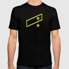 The LATERAL THINKING Project - Contexto SMALL Black Mens Fitted Tee