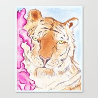 Tiger #1 Canvas Print