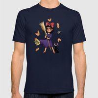 Kiki and Jiji Mens Fitted Tee Navy SMALL
