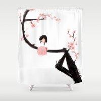 Gentle Blossom Shower Curtain