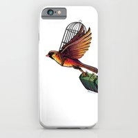 iPhone & iPod Case featuring On My Own A Bit Simpler by Mark Mangum