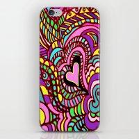 LOVE POP ART  Where The … iPhone & iPod Skin
