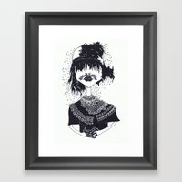 The Other Girl With The … Framed Art Print