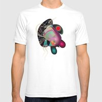 Dissection (of A Thought… Mens Fitted Tee White SMALL