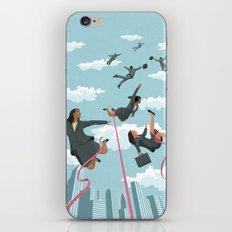 Pink Tape iPhone & iPod Skin