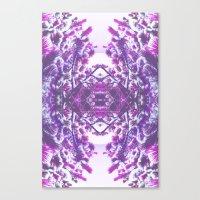 winter in purple Canvas Print