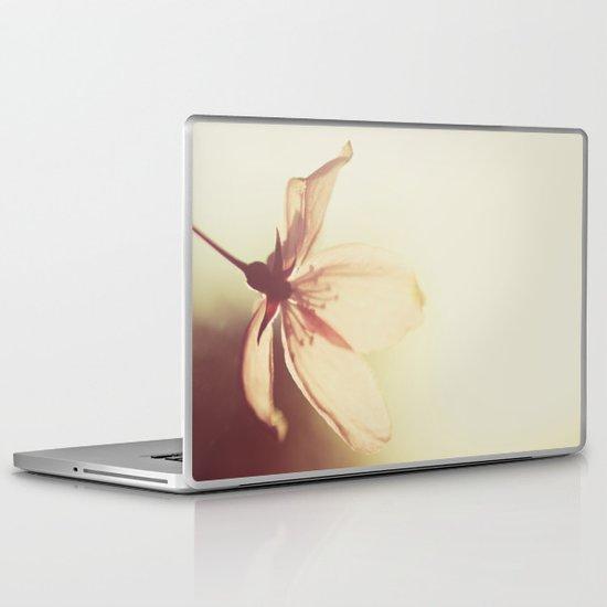 blossoms morning light Laptop & iPad Skin