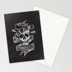 all men must die Stationery Cards