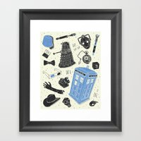 Artifacts: Doctor Who Framed Art Print