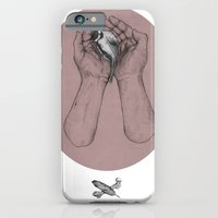 Hes got the whole bird in his hands iPhone 6 Slim Case