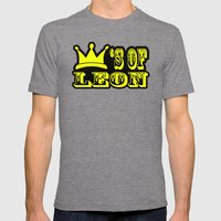 Kings of Leon Mens Fitted Tee Tri-Grey SMALL