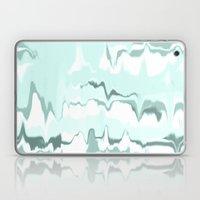 Marbled In Mint Laptop & iPad Skin