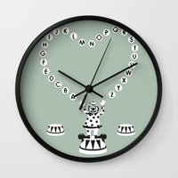 ABC CIRCUS Wall Clock