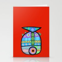 Fish which ate ship Stationery Cards