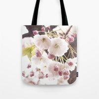 Cherry Flower Tree Tote Bag
