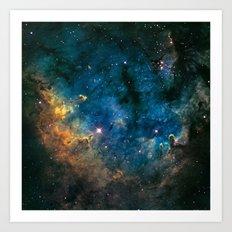 Boomerang Nebula Art Print
