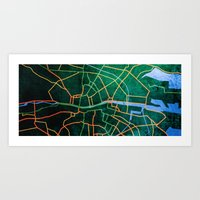 Eastward Art Print