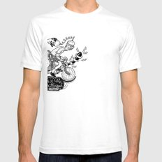 Tandem électrique White Mens Fitted Tee SMALL