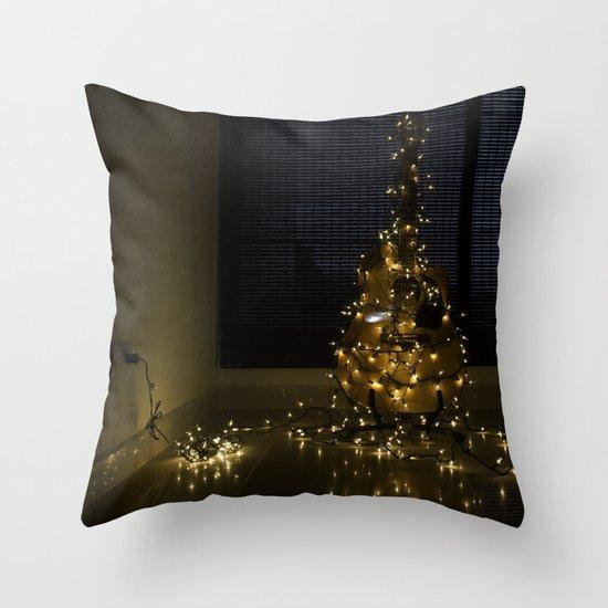 Hear the lights Throw Pillow