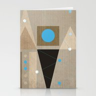Geometric/Abstract 7 Stationery Cards