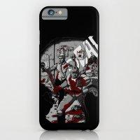 Zombie Rush (Gray Tone Version) iPhone 6 Slim Case