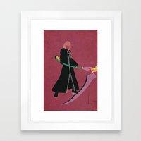 Marluxia Framed Art Print