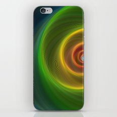 Space dream spiral iPhone & iPod Skin