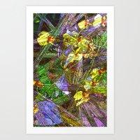Angels In The Garden Art Print
