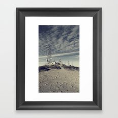 Can You Hear Me Now? Framed Art Print