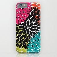 Big Tropical Flowers iPhone 6 Slim Case
