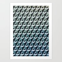 CU:BE Art Print