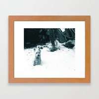 This Is Snow Fun... Framed Art Print