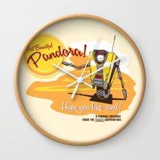Visit Pandora! Wall Clock