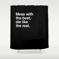 Hackers Shower Curtain