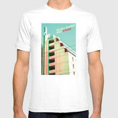 We Will Always Have Athens SMALL White Mens Fitted Tee