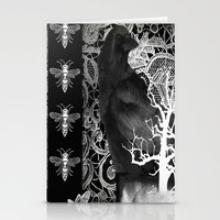 Crow And Lace Stationery Cards