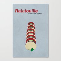 Ratatouille Canvas Print
