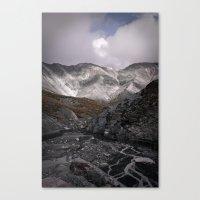 Motley Valley Canvas Print
