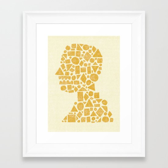 Untitled Silhouette. Framed Art Print