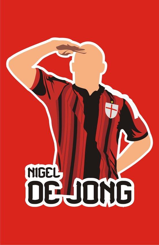 Nigel De Jong Art Print