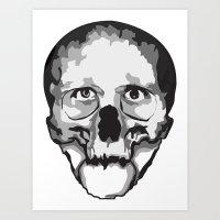 Half Dead Art Print